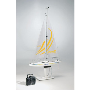 AQUB0170 AquaCraft Paradise Sailboat RTR Yellow 70
