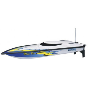 AQUACRAFT Mini Rio Offshore RTR EP Boat, RED, CH A2