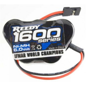 Associated Reedy NiMH 5C 6.0V 1600mAh Hump Receiver U