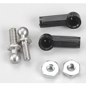 Associated Ball Joint Male 4-40 Long (2)