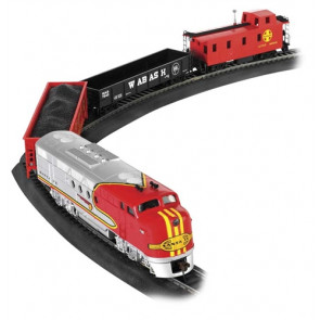 Bachmann Santa Fe Flyer Train Set HO