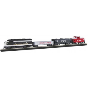 Bachmann Thoroughbred Train Set HO