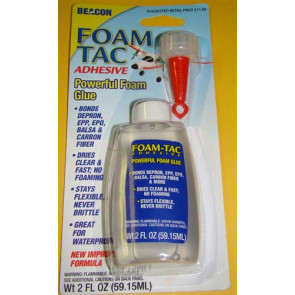 Foam Tac Adhesive 2oz bottle