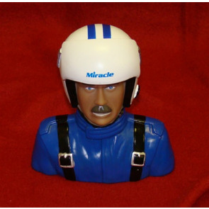 BP HOBBIES MIRACLE 1/4 SCALE PILOT, BLUE