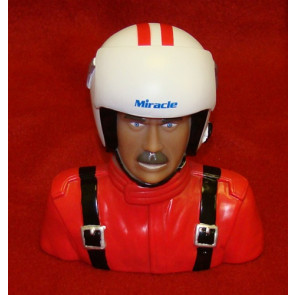 BP HOBBIES MIRACLE 1/4 SCALE PILOT, RED