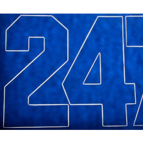 Coverite Numbers Blue 3""