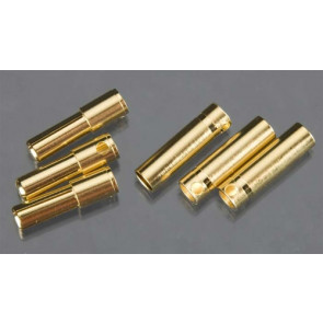 Castle Creations 4mm Bullet Connector 16G/13G 75A (3)