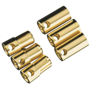 Castle Creations 6.5mm Bullet Connector 13G/8G 200A (3)