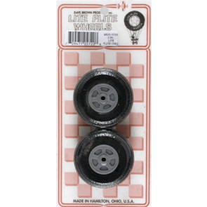 "Dave Brown Treaded Lite Flite Wheels 2"" (2)"