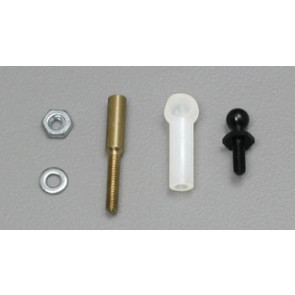 """Dubro Ball Link Threaded w/Washer 1/16"""""""
