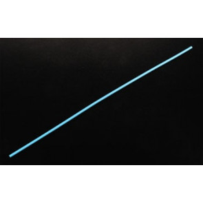 "Dubro 12-1/4x1/8"" Antenna Tube Neon Blue (24)"
