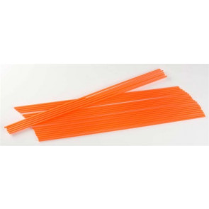 "Dubro 12-1/4x1/8"" Antenna Tube Neon Orange (24)"