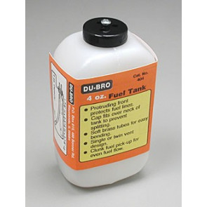Dubro S4 Square Fuel Tank 4 oz