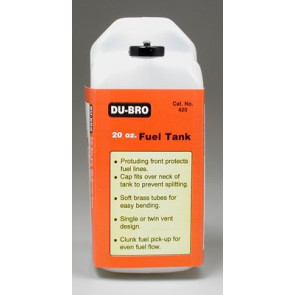 Dubro S20 Square Fuel Tank 20 oz