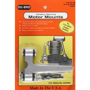 Dubro Viration Reducing Motor Mount .45 - .80 4 - Stroke