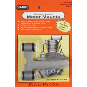Dubro Vibration Reducing Motor Mount .80-.91 4-Stroke