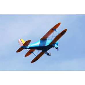 FMS 1100mm Staggerwing-Blue PNP
