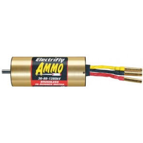 Great Planes Ammo 36-88-1280 In-Runner Brushless Motor