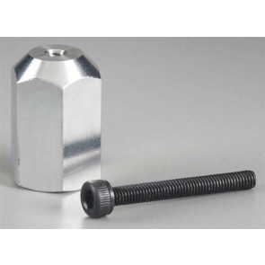 "Great Planes Aluminum E-Spinner 5/16""-24 Adapter"