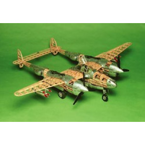 Guillows Lockheed P-38 Lightning Model Kit