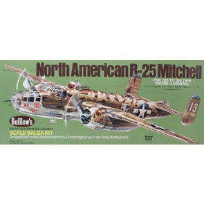 Guillows North American B25 Mitchell Model Kit