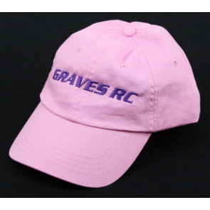 GRAVES RC HOBBIES LADIES HAT, PINK