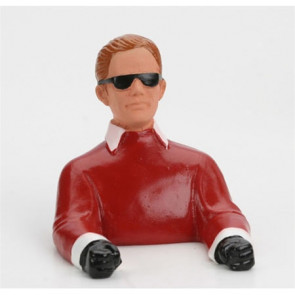 HANGAR 9 1/9 Pilot, with Sunglasses (Red) W/ Arms