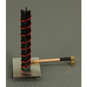IBCRAZY 10 Turn Helical Antenna, 5.8GHz