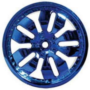 IMEX BLUE DEALER CHROME RIM T/E-MAXX SAVAGE