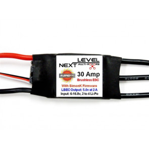 Next Level 30 Amp Multi-Rotor ESC with SimonK Firmware