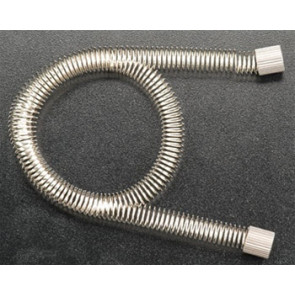 "INTEGY Coiled Fuel Line 12"" Silver"