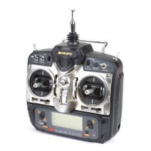 JR 7ch X-378 FM Airplane Transmitter with (4) 537 Servos