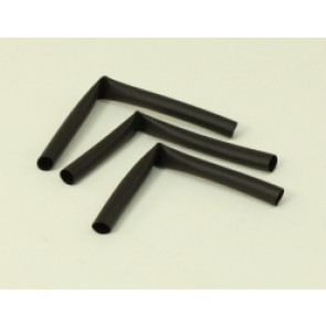 "KTHS4B3IN KT HEATSHRINK, 4MM, BLACK, (3) 3"" PC"