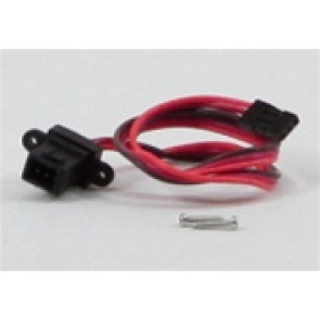 "MAX3462 MAXX PRODUCTS Hitec/JR/Airt. Z 12"" DOUBLE-LINK with 22 AWG heavy wires DOUBLE EXTENSION w/ removable mount"