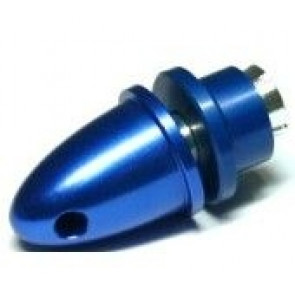 PA-B-4 RC Model 4mm Hole Blue Metal Propeller Adapter