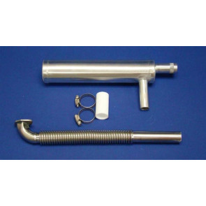 RCGF Canister Muffler for RCGF 50CC B and 55CC Engines
