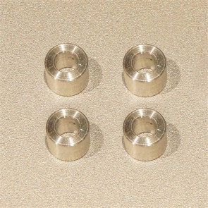 FPV Manuals Reducers for Graupner Props 8mm to 3mm (4pcs)