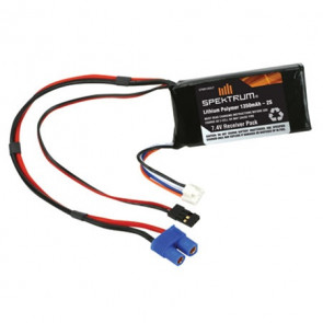SPEKTRUM LiPo Receiver Pack 1350mAh 7.4V 2S1P