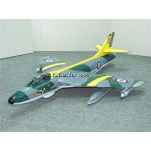 SHULMAN AVIATION RC LANDER HAWKER HUNTER PNP CAMO/YELLOW