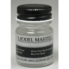 Testors Model Master Decal Set Solution 1/2 oz