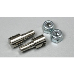 Traxxas Rod Guides/Nuts Nitro Hawk (2)