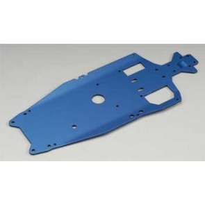 Traxxas T-6 Aluminum Chassis 3mm Blue Jato