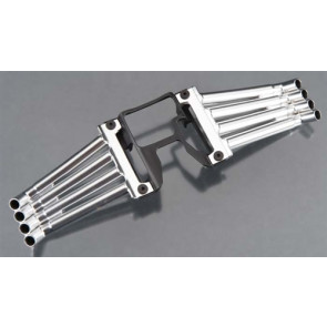 Traxxas Header Pipes Satin Chrome