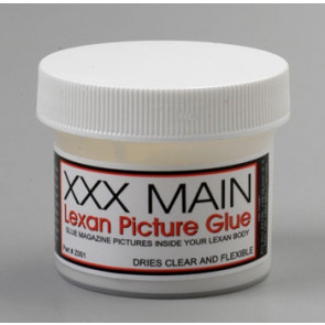 XXX Main Racing Lexan Picture Glue