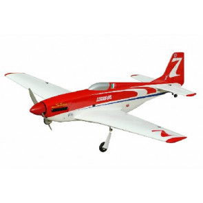 AIRBORNE MODELS P-51D Strega 40 (Red/White) with Electric Retracts