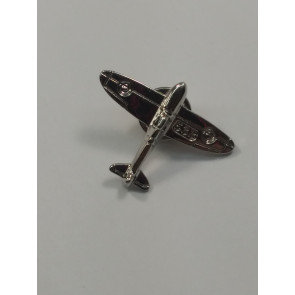 Graves RC Airplane Lapel Pin - Silver