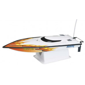 AQUACRAFT Mini Rio Offshore RTR EP Boat, ORANGE, CH A4