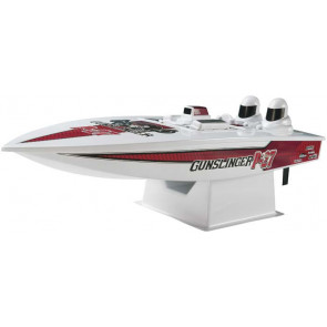 AquaCraft P-27 Gunslinger Crackerbox Offshore Boat RTR