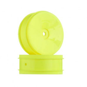 Associated Front 2WD Buggy Wheel 61mm Yellow (2)