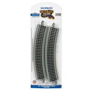 "BACHMANN 18"" RADIUS CURVED TRACK (HO SCALE)"